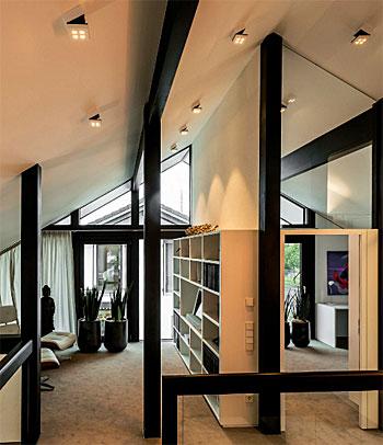 Lampe Schräge Decke Home Ideen