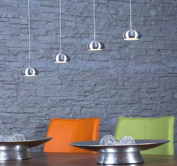 LEDs: 6W Pro Leuchtenkopf, 375lm Pro LED LEDs Warm Weiss (3000k) Dimmbar  Mit Phasenabschnitt Dimmer Jedes Pendel Ist Einzeln Höhenverstellbar Bis  Max.