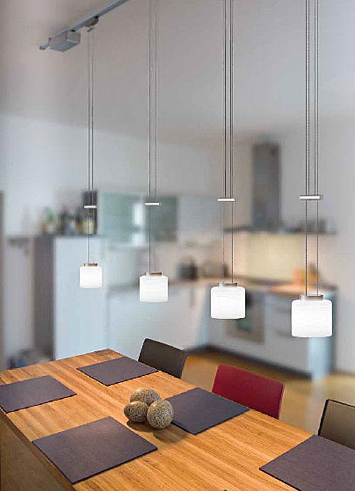 Magnet niedervolt schienensystem von wohlrabe lichtsysteme for Designer pendelleuchten esstisch led