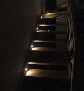 Amazing Led Spots Treppe Schönsten Einrichtungsideen